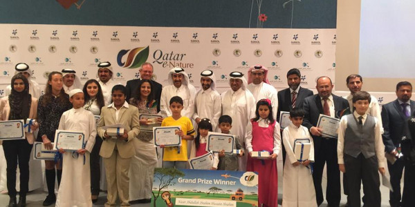 'Qatar e-Nature' schools contest concludes with a grand awards ceremony